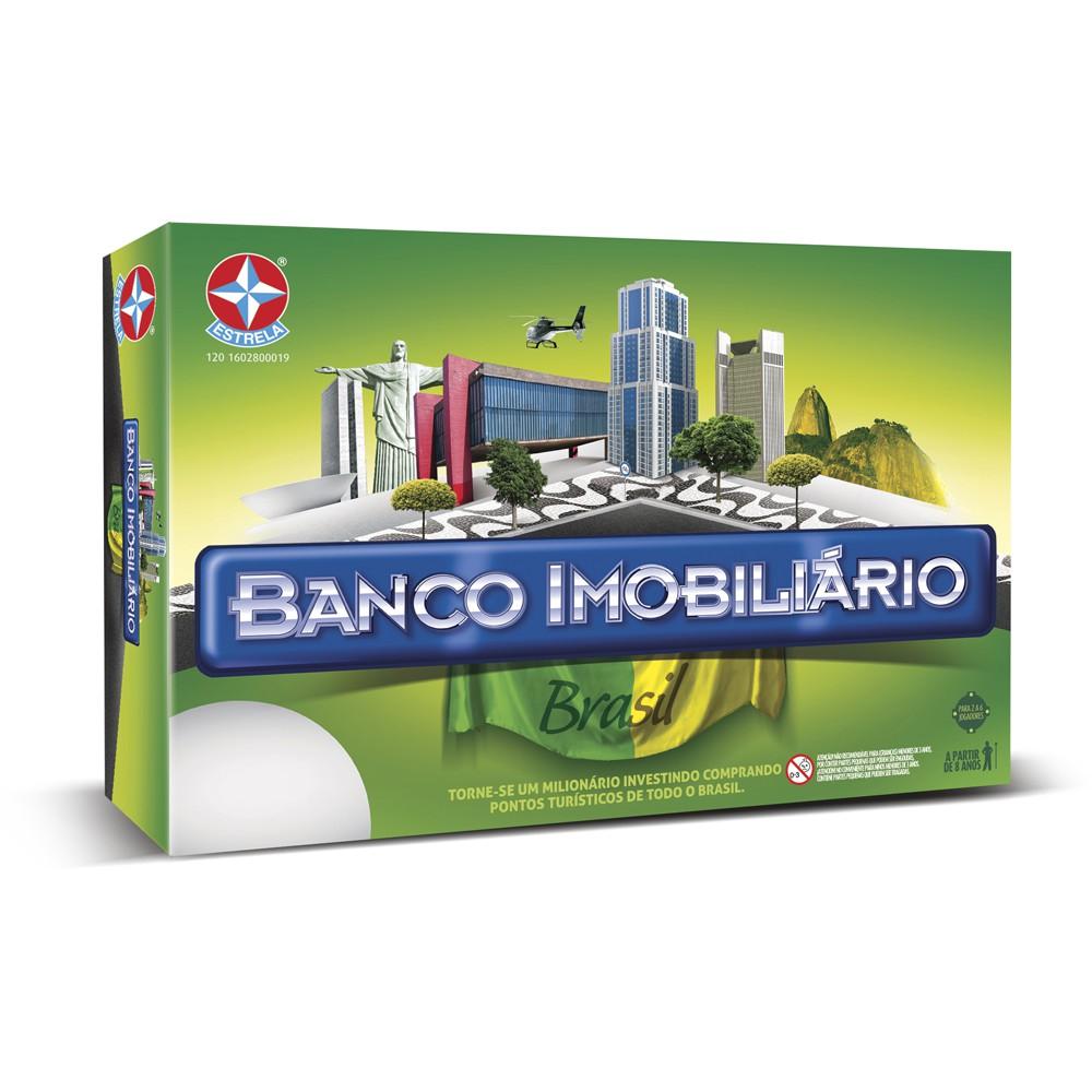 Jogo Banco Imobiliário versão Brasil