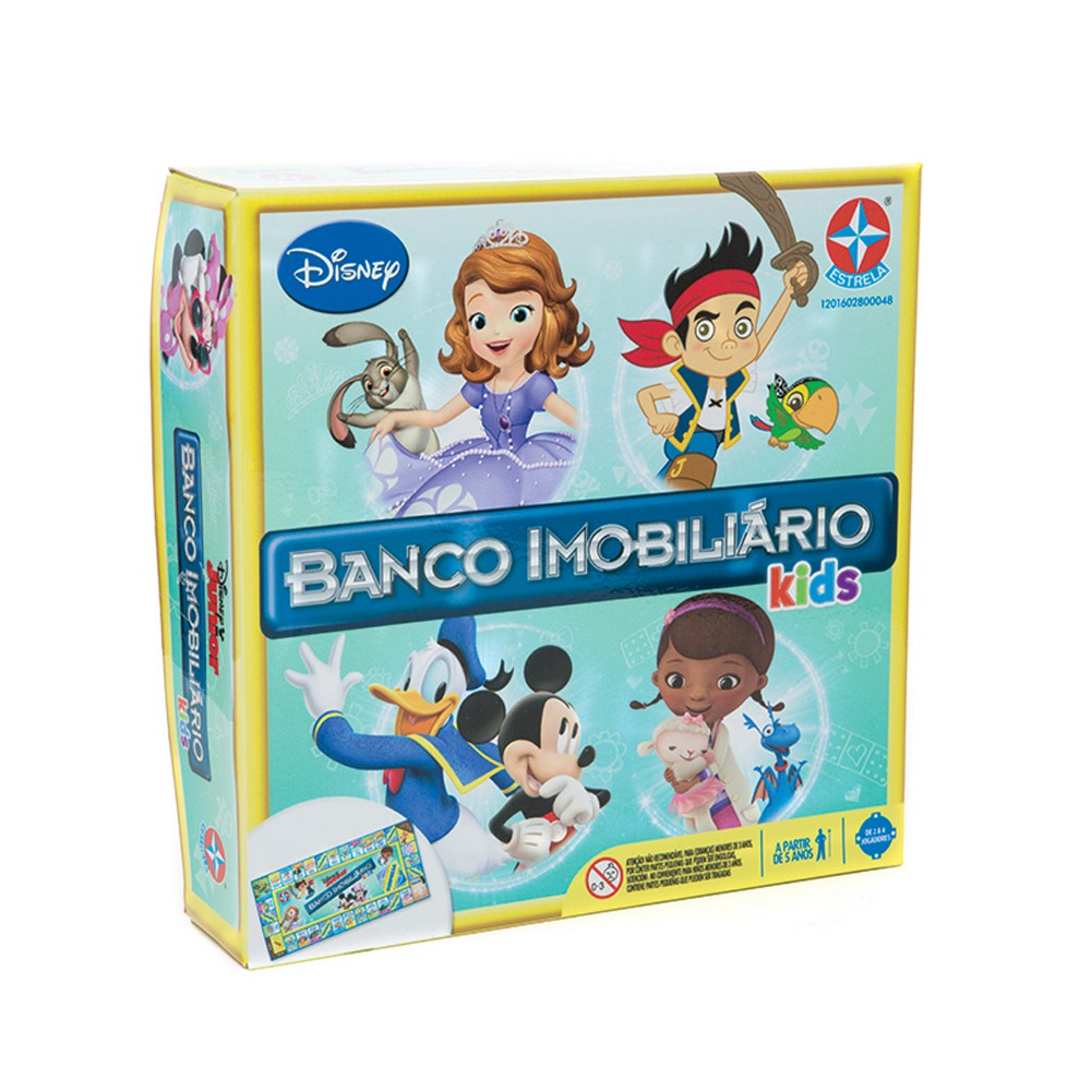 jogo Banco Imobiliário versão Kids