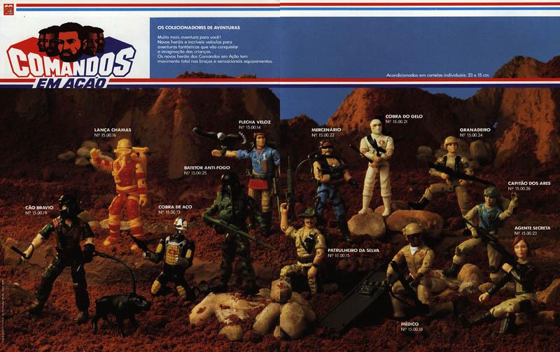 Catálogo da Coleção de Comandos em Ação da Estrela