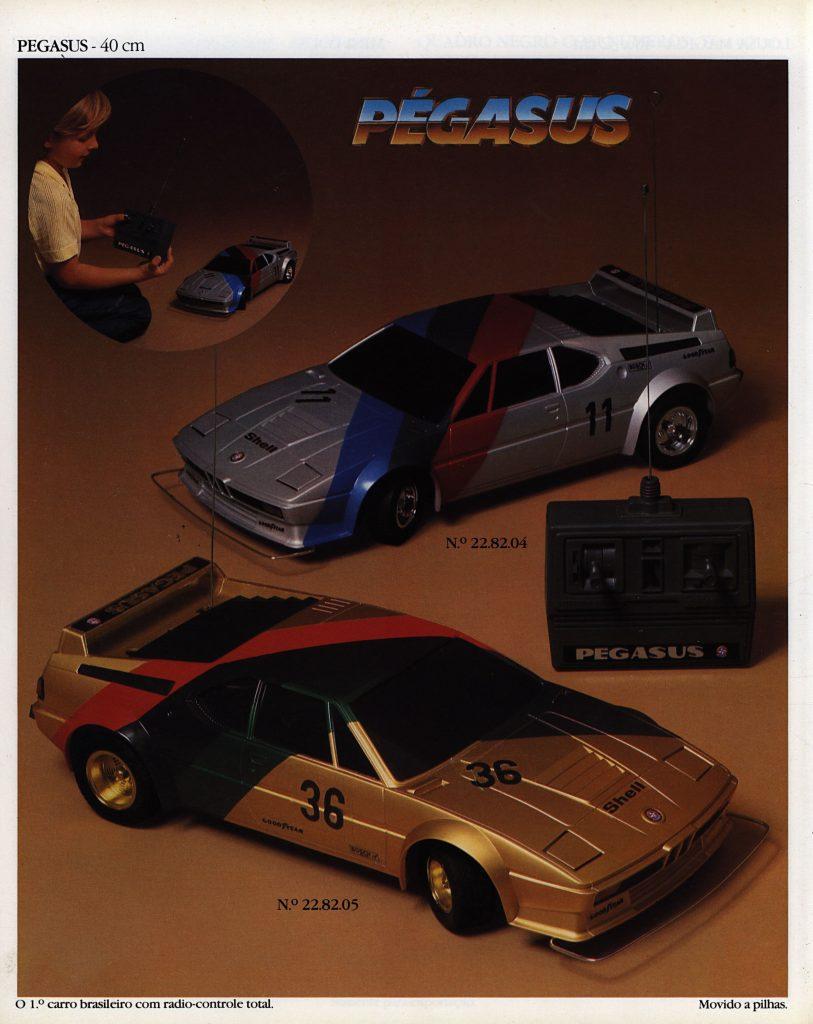 Catálogo de 1980 do Brinquedo Pégasus da Estrela