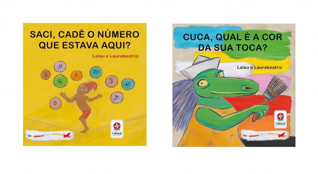 Livros Saci e Cuca da Estrela Cultural