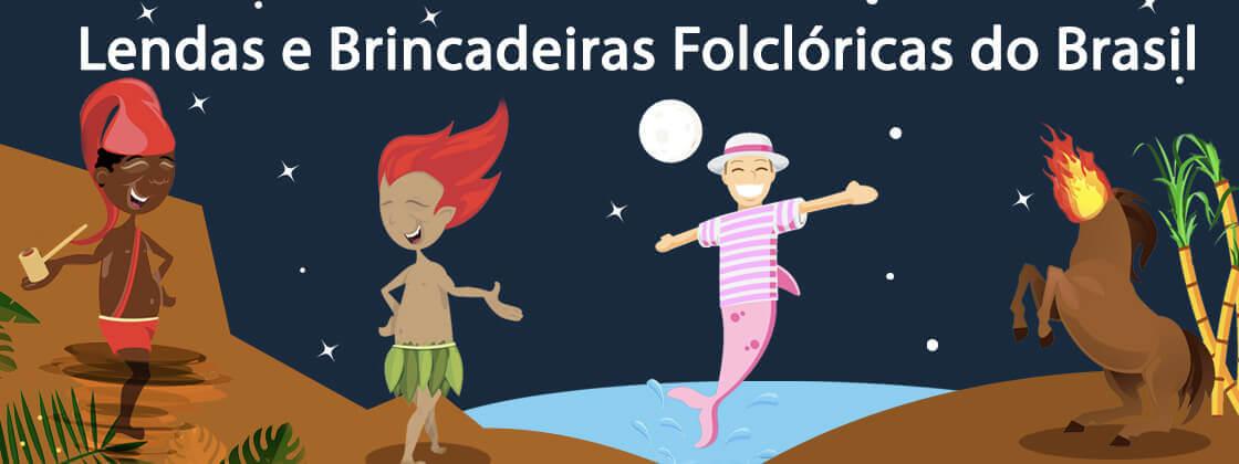Ilustração do Infográfico Lendas e Brincadeiras Folclóricas do Brasil (1)