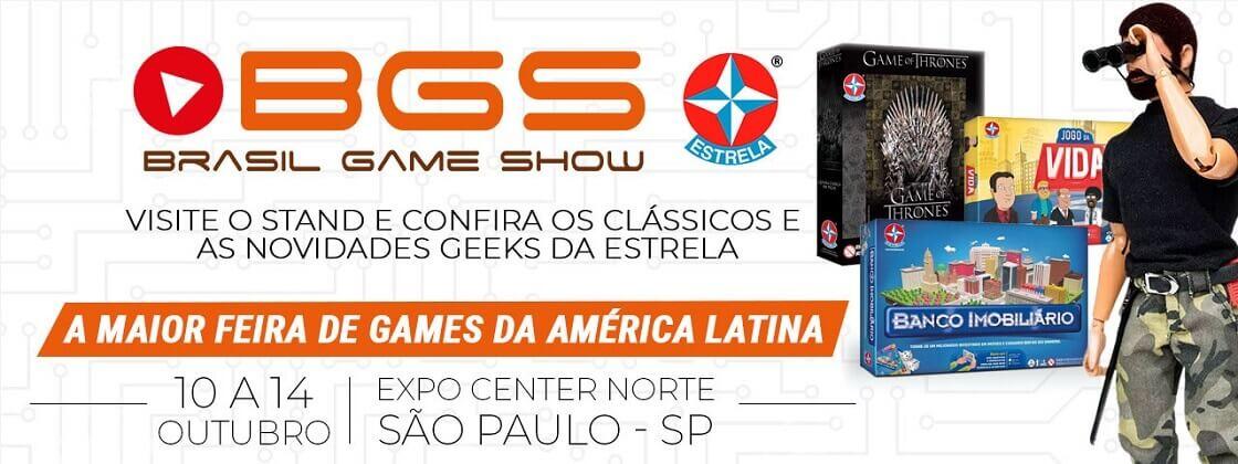 Ilustração Estrela no Brasil Game Show 2018