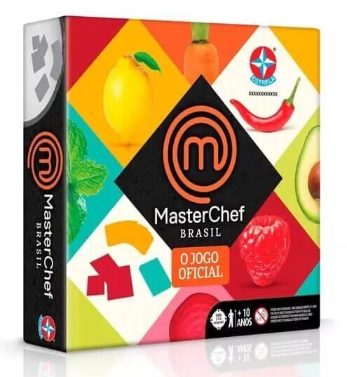 Embalagem do jogo Masterchef da Estrela