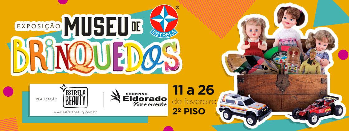 Exposição Museu de Brinquedos Estrela – Shopping Eldorado