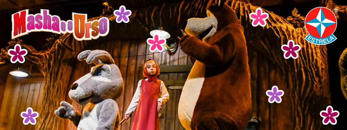 Shows Masha e o Urso - A Aventura Continua em Junho
