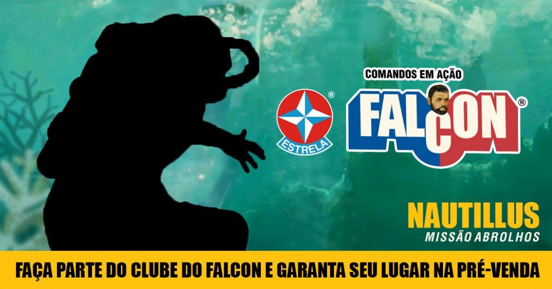 Faça parte do Clube do Falcon e garanta seu lugar na pré-venda do Falcon Nautillus!