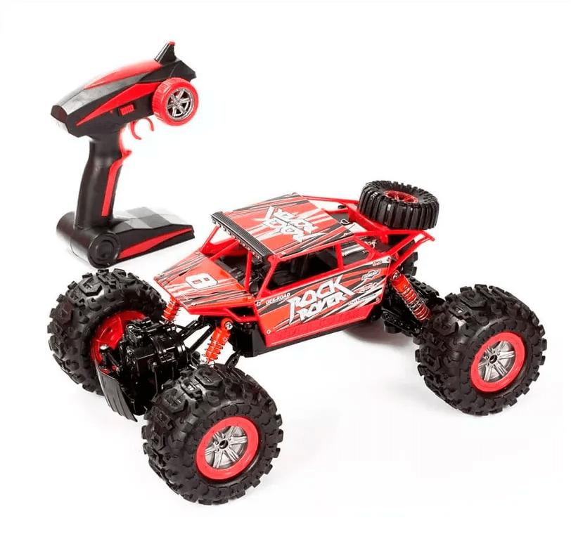Carrinho de controle remoto Anfibius Vermelho - Brinquedos Estrela