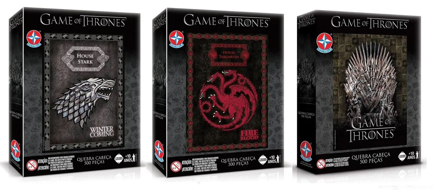 Quebra-cabeça Game of Thrones - Brinquedos Estrela