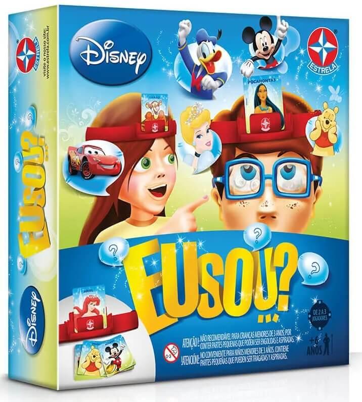 Jogo Eu Sou...? Disney - Brinquedos Estrela