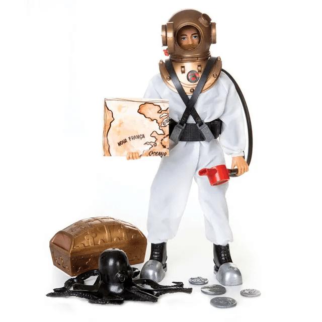 Boneco Falcon Tesouro Submarino 30 cm - Brinquedos Estrela